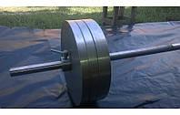 Штанга наборная для дома на RN90 кг