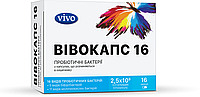 "БАД для ЖКТ Пробиотик ""ВИВОКАПС""-капсулы от дисбактериоза (16капс.,Украина)"