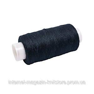 Нитки №36 джинсовые чёрные