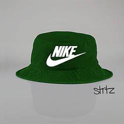 Панамка Nike зеленая