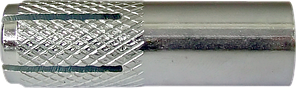 Анкер забивной стальной с внутренней метрической резьбой M6x25 d8 (100 шт/уп)