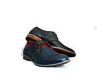 Туфли мужские Konors 647/7-49 с натуральной кожи, фото 1
