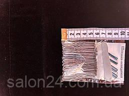 Шпильки  серебро 50 мм 100шт.