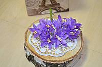 Букетик хризантемы (цена за букет из 12шт). Цвет - сиреневый