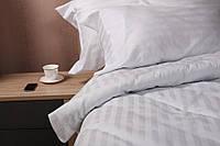 Комплект постельного белья евро White Stripe