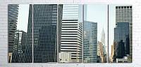 Модульная картина на холсте 5 в 1 Нью-Йорк 100х200 см