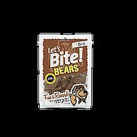 Лакомства Brit Let's Bite Bears для собак жевательные с мясом дикого кабана, 150 г