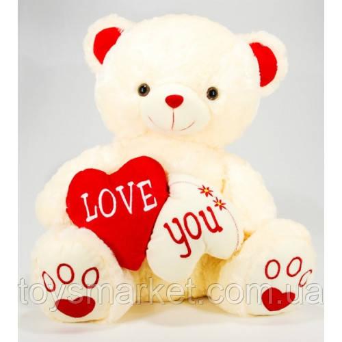 Плюшевый медведь Te Amo красное сердце