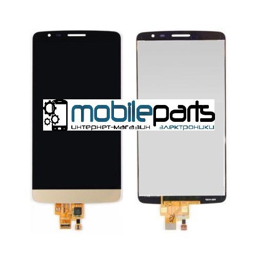 Дисплей (Модуль) + Сенсор (Тачскрин) для LG D690 | D693 | G3 Stylus (Золотой)