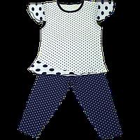 Нарядный костюм в горошек для девочек
