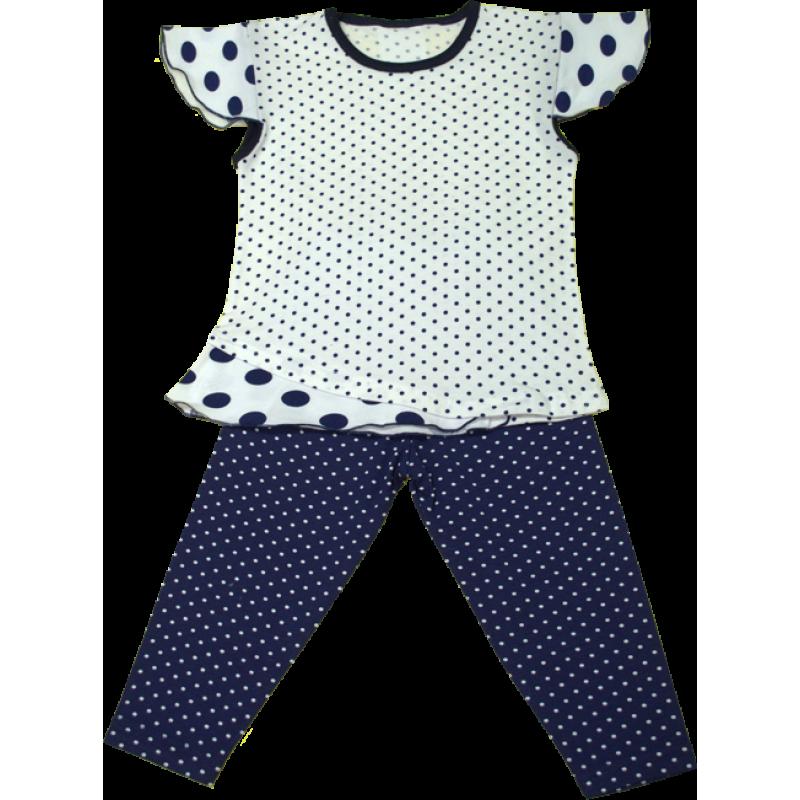 fa10c472082 Нарядный костюм в горошек для девочек - ВИСА - украинский трикотаж от  производителя в Полтавской области
