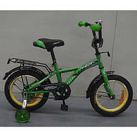 """Детский двухколесный велосипед Profi Racer Зеленый 14"""" G1432"""