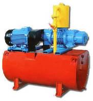 Ваккумный роторный компрессор ВГФ53