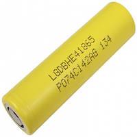 Аккумулятор литиевый LG NMC 18650 HE4 (3.7V, 20A, 2500mAh)