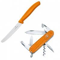 Набор Victorinox Color Twins (мультитул Spartan +нож кухонный Tomato&Sausage), оранжевый 18901.L9
