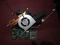 Запчасти (кулер, динамики,камера, охлаждение, usb, петли)  для ноутбука  dns x300v  б.у.
