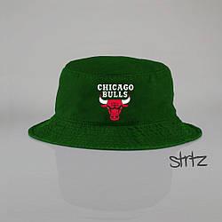 Панамка Chicago Bulls зеленая (люкс копия)