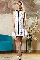 Очаровательное летнее платье без рукавов, размеры 44-50