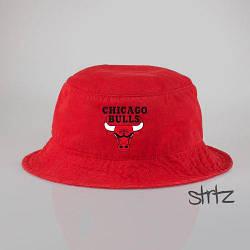 Панамка Chicago Bulls красная (люкс копия)