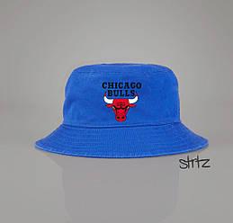 Панамка Chicago Bulls голубая (люкс копия)