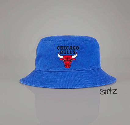 Панамка Chicago Bulls голубая
