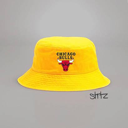 Панамка Chicago Bulls желтая