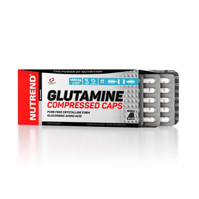 Nutrend Glutamine Compressed Caps 120caps