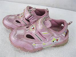 Открытые туфельки на девочку, лето размер 25