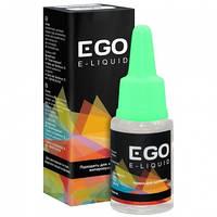 Жидкость для электронных испарителей EGO E-liquid (10мл, 6мг), черника