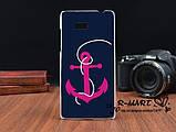 Силиконовый чехол для HTC Desire 600 с рисунком любовь рыбки и кота, фото 8