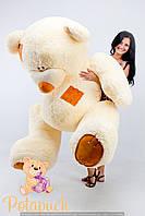 Большой плюшевый мишка  Тедди 230см кремовый