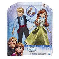 Куклы набор кукол Анна и Кристофф Ледяное сердце Disney Frozen   Anna & Kristoff