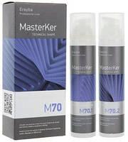 ERAYBA MASTERKER M70 Kerafruit Relaxer Набор для выпрямления волос: лосьон 100 мл + нейтрализатор 100 мл