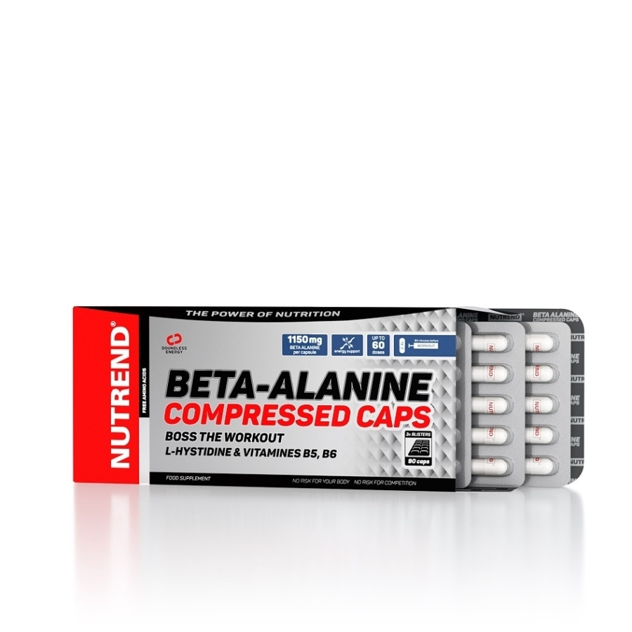 Nutrend Beta-Alanine Compressed Caps 90caps