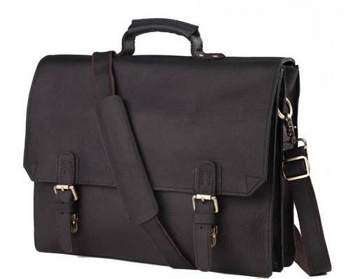 Кожаный мужской портфель TIDING BAG GА2095А
