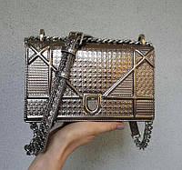 Кожаная сумка Диор Диорама мини 21 см, люкс