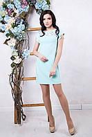 Женское платье Марчелла мята ТМ Irena Richi 42-48 размеры