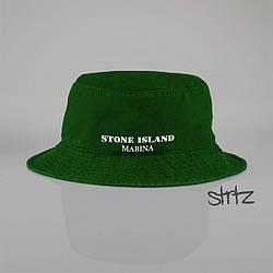 Панамка Stone Island зеленая