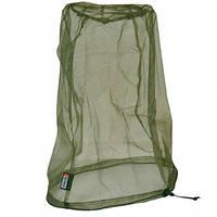 Маска-сетка для защиты от насекомых Tatonka Moskito Kopfschutz (35х25х25см), хаки 2636.036