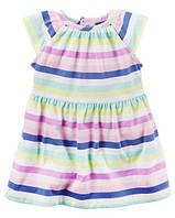 Платье с трусиками Полосатое настроение Картерс Neon Striped Dress