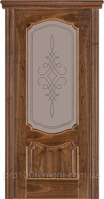 Двери Terminus Caro модель №41 ПГ/ПО (орех американский)