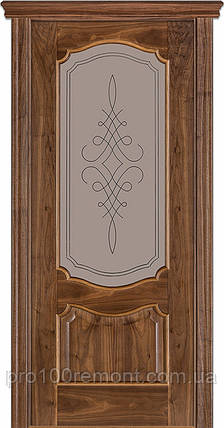 Двери Terminus Caro модель №41 ПГ/ПО (орех американский), фото 2
