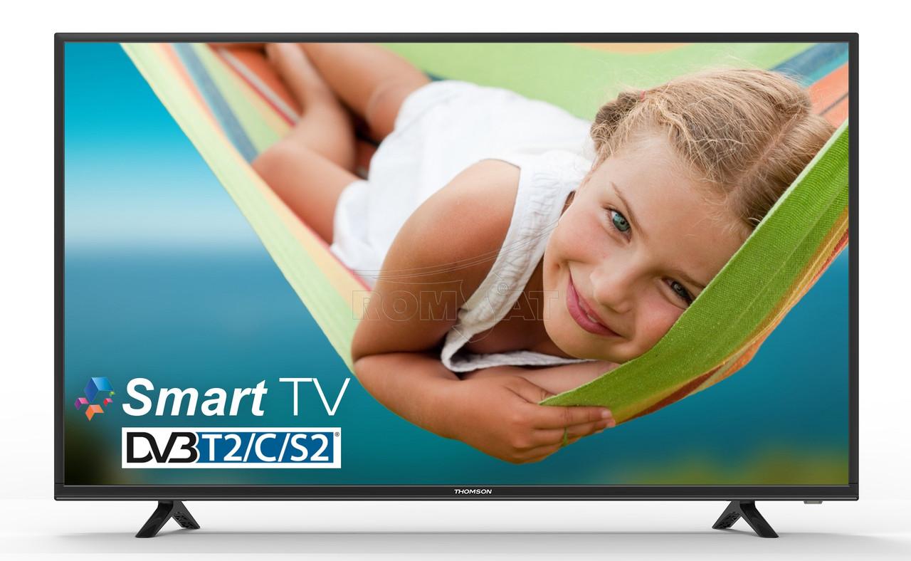 """Телевизор 40"""" Smart TV T2 Full HD 1920×1080 USB HDMI THOMSON 40FB5406, фото 1"""