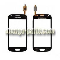 Тачскрин/Сенсор Samsung i8160 Galaxy Ace 2 черный high copy