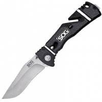 Нож складной SOG Trident Elite Satin (длина: 210мм, лезвие: 92мм)