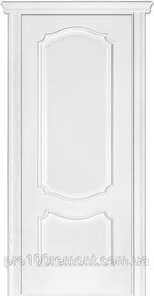 Двері Terminus Caro модель №41 ПГ/З (ясен білий Емаль, ясен Crema), фото 2