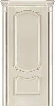 Двері Terminus Caro модель №41 ПГ/З (ясен білий Емаль, ясен Crema), фото 3