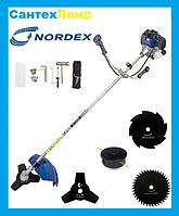 Коса Бензиновая Nordex ND-4500 ( 3 ножа 1 катушка)