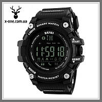 Умные часы SKMEI Smart 1227 Black с Водонепроницаемостью 50 м., фото 1