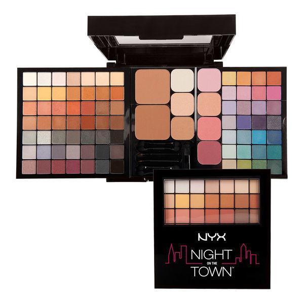 NYX S138 Night On The Town Palette - Набор декоративной косметики